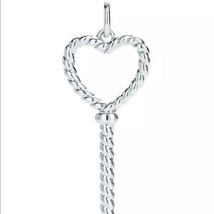 50 off tiffany co jewelry authentic tiffany co silver twisted jewelry authentic tiffany co silver twisted key pendant aloadofball Gallery